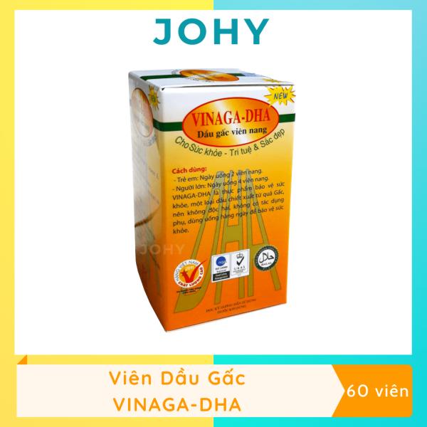 Viên nang Dầu gấc VINAGA-DHA (Hộp100 viên) - JOHY