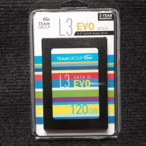 Giá Ổ cứng SSD 120GB TEAM L3 EVO Sata III