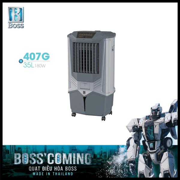 Bảng giá Quạt điều hòa không khí Boss FEAB-407-G - 35 lít - 180W | Bảo hành 12 tháng chính hãng | Made in Thailand