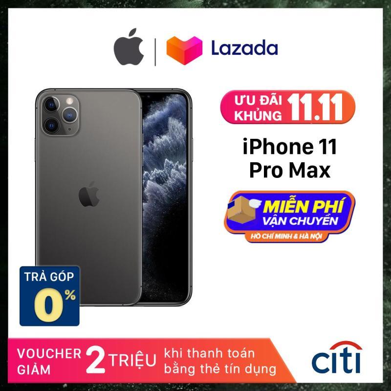 Điện thoại Apple iPhone 11 Pro Max - Phân Phối Chính Hãng VN/A - Màn Hình Super Retina XDR 6.5inch, Face ID, Chống nước, Chip A13, 3 Camera, Đi Kèm Sạc Nhanh 18W