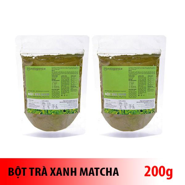 Combo 2 gói trà xanh 100 gram nguyên chất 100% tốt nhất