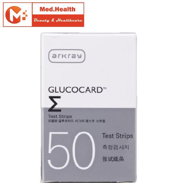 Que đo đường huyết Glucocard ∑ - Arkray Nhật Bản bán chạy