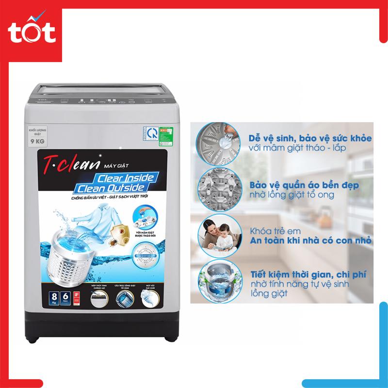 Bảng giá Máy giặt TCL 8 Kg TWA80-B302GM Điện máy Pico