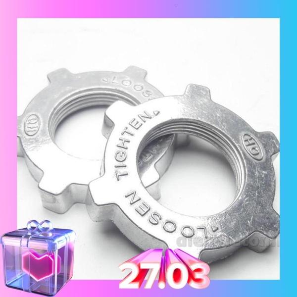 Bảng giá Bộ 2 khóa lồng, chặn lồng quạt nhôm cao cấp, dùng để khóa phần lồng sau của quạt, sử dụng hầu hết tất cả các loại quạt thông dụng (N005) Điện máy Pico