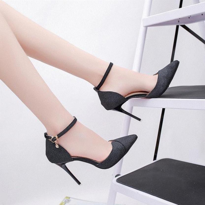 giày cao gót nhũ kim tuyến đẹp - thời trang công sở vinbuy giá rẻ