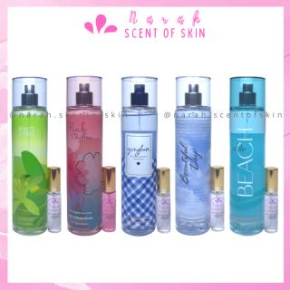 Xịt thơm body mist Bath and Body Works - Top 5 mùi hương dành cho học sinh size 10ml thumbnail