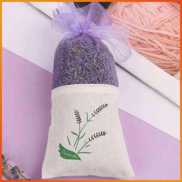 Coupon Ưu Đãi Túi Thơm Oải Hương Cao Cấp - Nụ Lavender Khô Bịch Vải