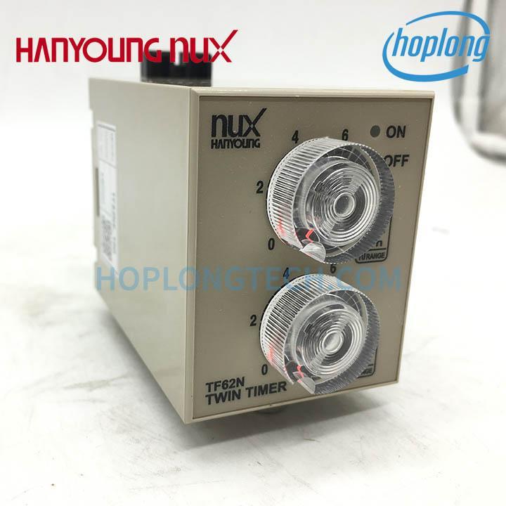 TF62NP-01D Bộ đặt thời gian Hanyoung Nux