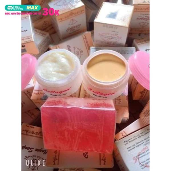 kem collagen plus vit e kem dưỡng trắng da mặt