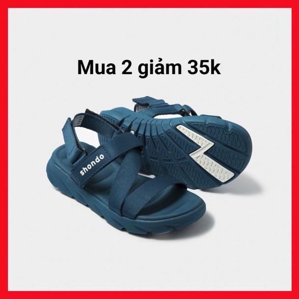 Giày Sandals Màu Xanh SHONDOShat F6 Sport - F6S303 giá rẻ