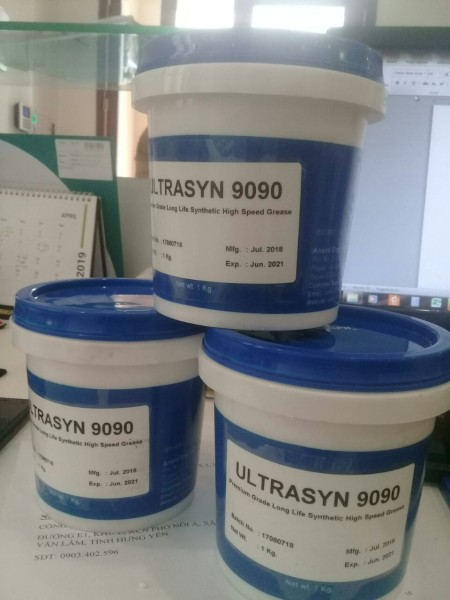 Mỡ chịu nhiệt, chịu kiềm, chịu axit Ultrasyn 9090