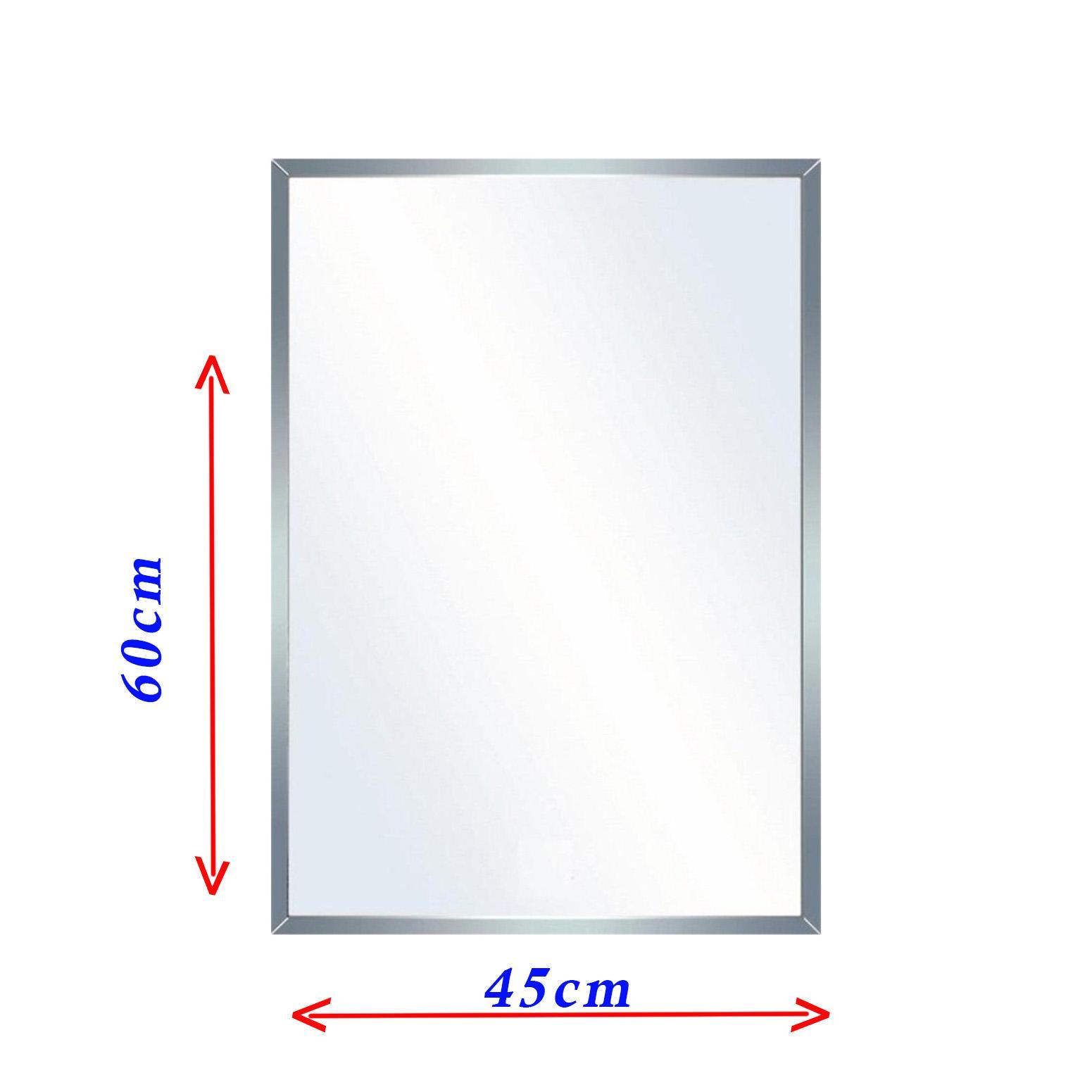 Gương phòng tắm cao cấp 45x60cm Vuông