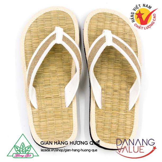 Dép đi trong nhà ngăn ngừa mồ hôi chân, giữ ấm chân, chống nhiễm khuẩn, nguyên liệu tự nhiên (sợi chiếu, bột quế, sợi đay) DKS-09 giá rẻ