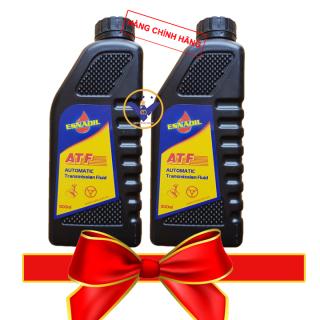 BỘ 2 dầu trợ lực tay lái xe ô tô Esnaoil ATF lon 900ml thumbnail