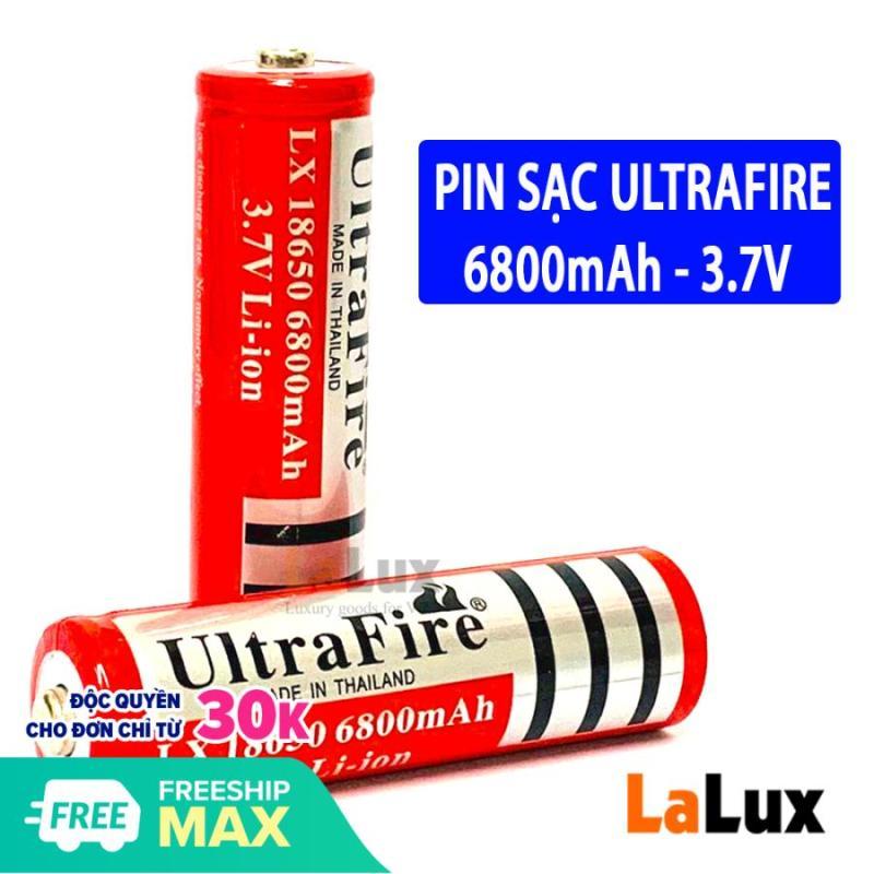 Pin Sạc ULTRAFIRE 18650 6800mAh - Pin lithium 3v7 , Pin Sạc , Pin 18650 , Pin Sạc Dự Phòng Năng Lượng Thái Lan, Pin Cung Cấp Nguồn Điện 3.7V ( shop có bán pin tiểu )