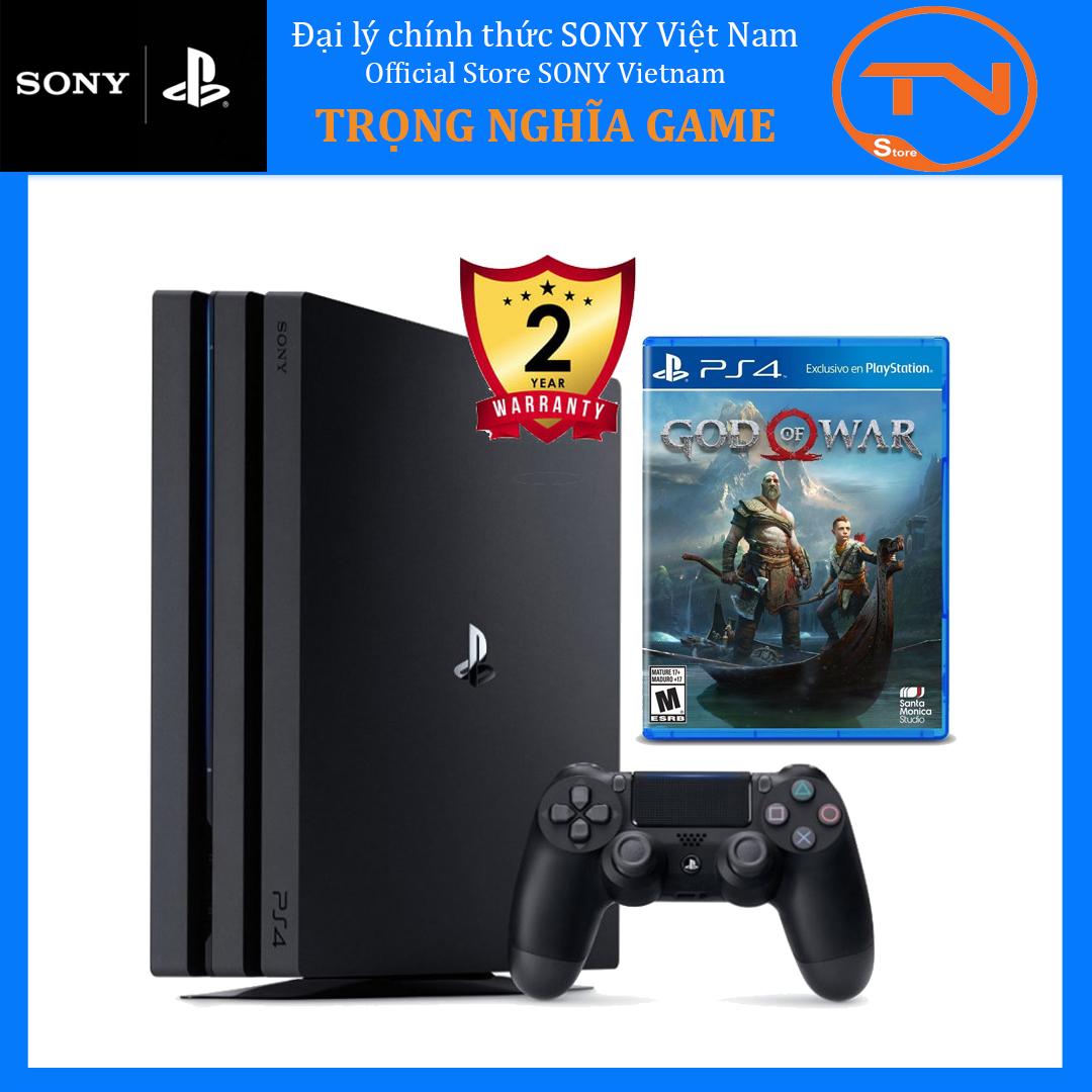 [TRẢ GÓP 0%] Máy PS4 Pro 7218B 1TB[Bảo Hành 2 Năm] + God of War 4