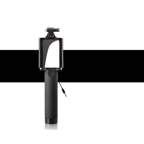 Gậy chụp ảnh (Selfie) gắn gương camera sau mang đi du lịch tiện dụng (Màu đen)