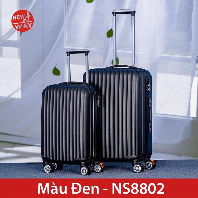 Vali NEWWAY NW8802 Size 24inch vali du lịch vali kéo BÁNH XOAY 360 ĐỘ NHỰA PC VÀ ABS MỀM DẺO