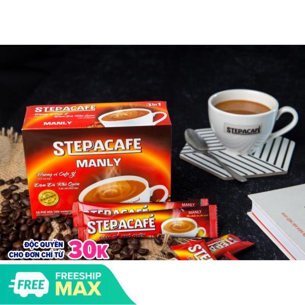 [DATE T5/2021] Cafe hòa tan Manly (17gr/gói, 15 gói/ hộp) hương vị Ý, mạnh mẽ, đậm đà - STEPPACAFE