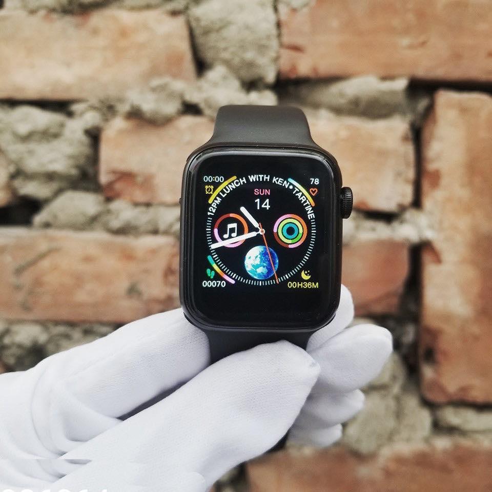 GIÁ RẺ-Đồng hồ thông minh W34 copy Apple_watch_ hàng chuẩn REP_1:1 giống hình-nói không với sai hàng…………SP liên_quan nam_nữ_casio_thể thao_điện tử_apple watch_a1_smart watch_dây da_đẹp_dây thép_đeo tay_mặt vuông_dây kim loại_series 1 Nhật Bản
