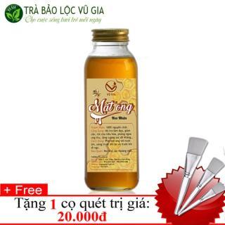 Mâ t Ong Hoa Nha n Nguyên Châ t Ba o Lô c VG Farm (420gr hu ) + Tă ng Co Quét - Điê u Tri Da Dày [ Đã được kiểm nghiệm y tế ] thumbnail