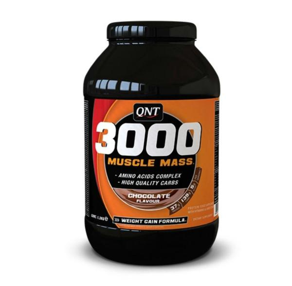 QNT 3000 Muscle Mass Chocolate 1.3kg cao cấp