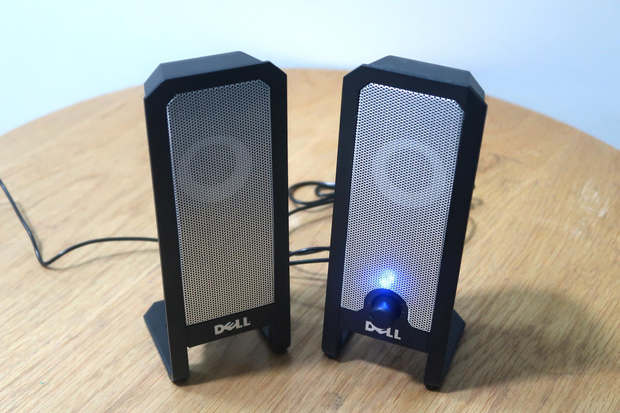 Loa Vi Tính Dell A225 Dùng Cho điện Thoại, Máy Tính, Laptop... Nguồn USB Đang Khuyến Mãi
