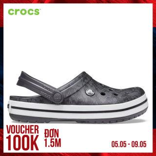 CROCS Giày Clog Crocband 206474-02W Unisex