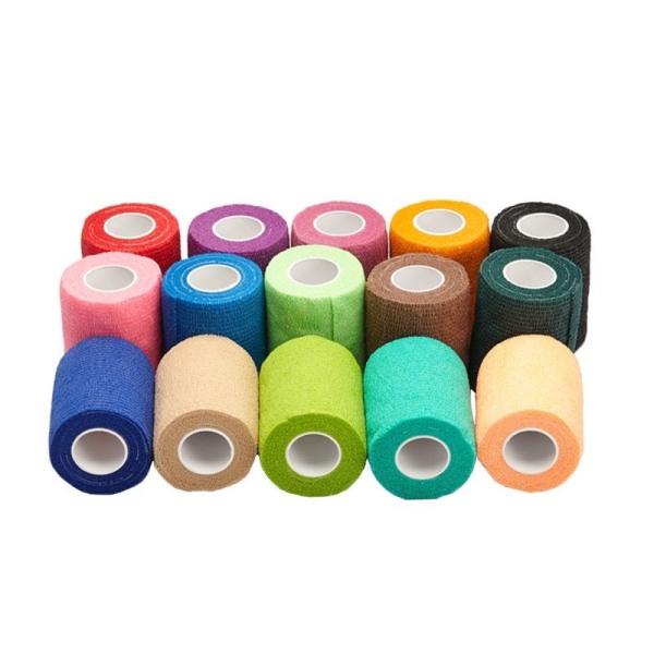 Băng cuốn thể thao tự dính, băng cuốn khớp chống chấn thương, băng đan cơ 5cm x 4,5m và 7,5cm x 4,5m