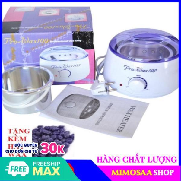[ RẺ VÔ ĐỊCH ]-Nồi đun chảy sáp wax lông pro-Máy nung sáp wax tiện lợi( TẶNG KÈM SÁP WAX)-MIMOSAA nhập khẩu