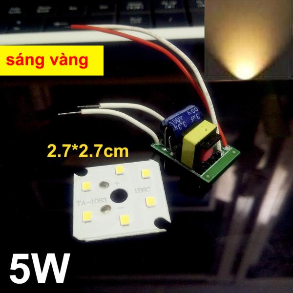 Chip LED BULB kèm Driver AC220V 50 ngàn giờ Sáng Vàng 5w 10w 20w 30w 40w 50w 60w 100w 150w