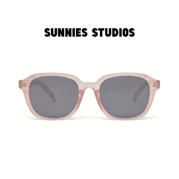 Giá bán Kính mát Sunnies Studios Gọng Vuông Homer in Rose Taupe