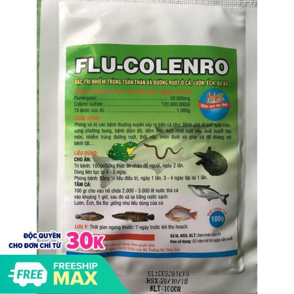 Flucolenro đặc tri các bệnh trên cá lươn ếch baba..... và các loài thuỷ sản