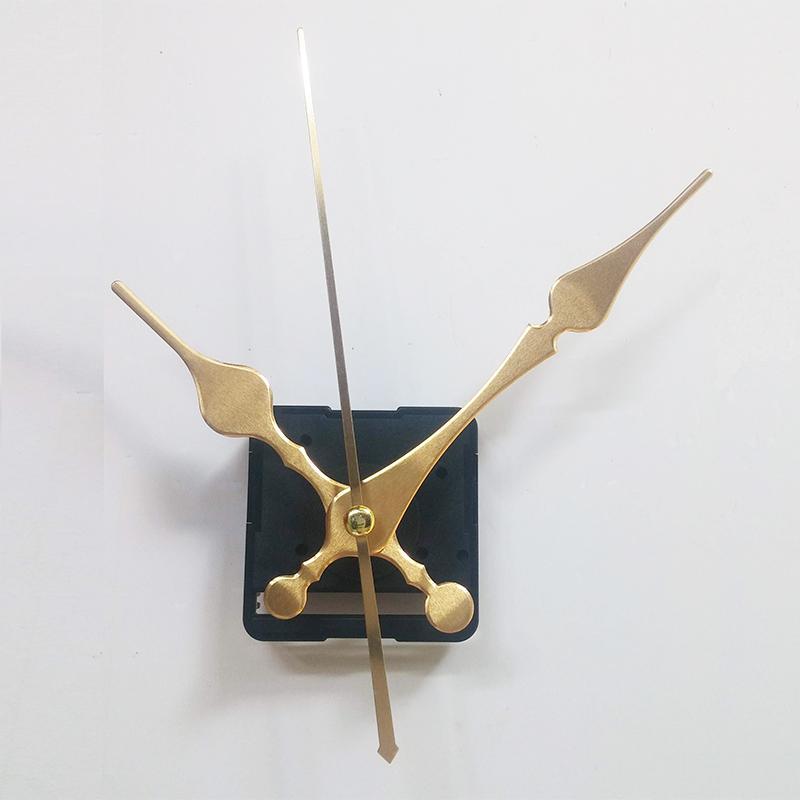 Nơi bán Bộ kim vàng 12cm và Máy đồng hồ treo tường Taiwan loại tốt - Kim trôi