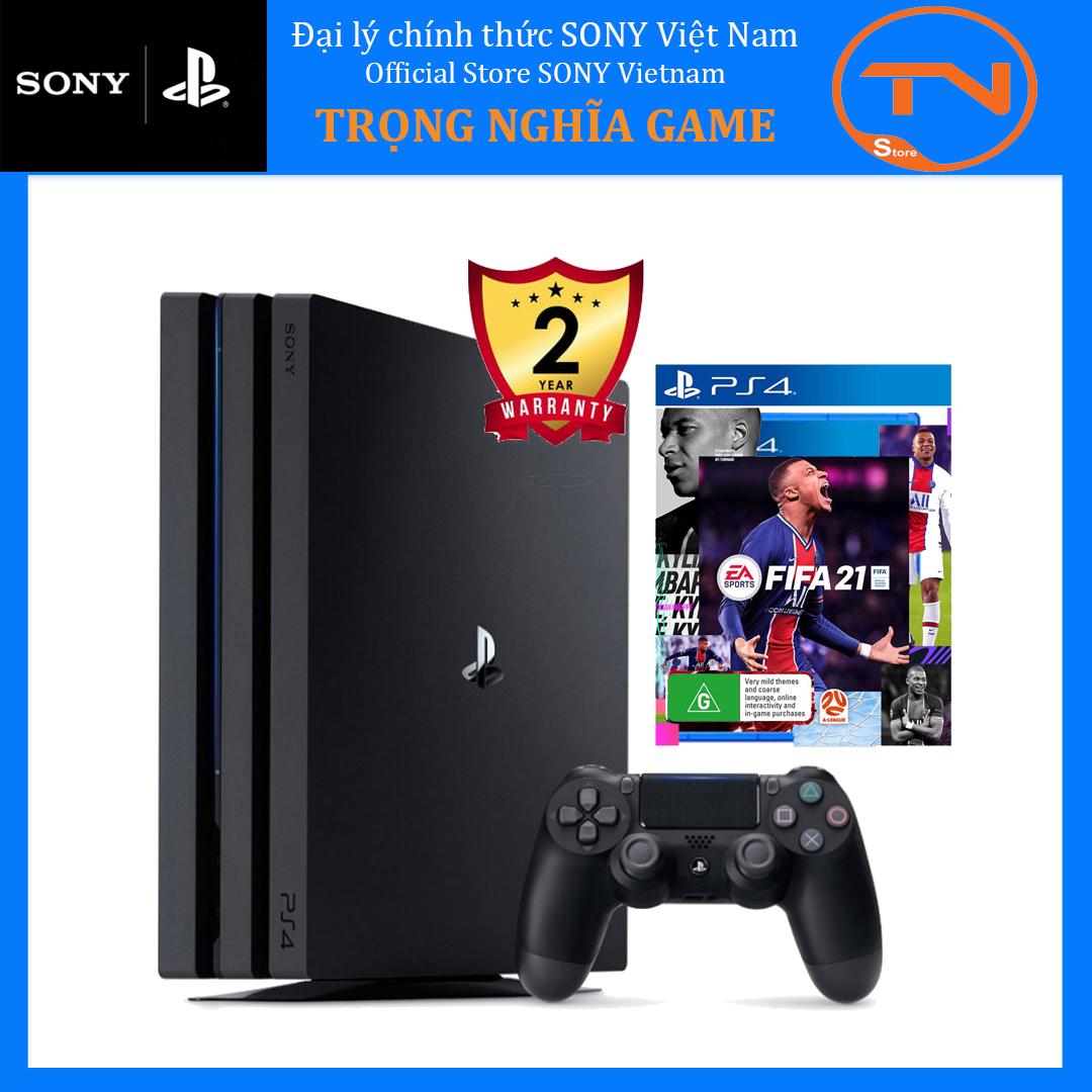 [TRẢ GÓP 0%] Máy PS4 Pro 7218B 1TB Sony kèm đĩa game FIFA 21 - Bảo hành 24 tháng chính hãng