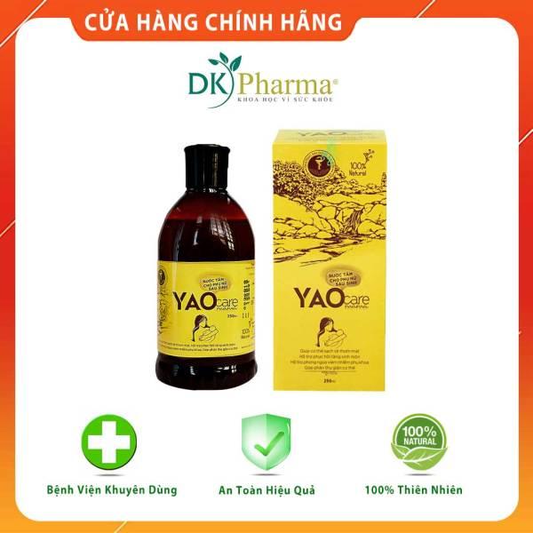 Thảo dược xông vùng kín sau sinh, phục hồi hồng thơm, se khít - Yaocare Mama - Chai 250ml