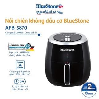 Nồi chiên không dầu BlueStone AFB-5870 (5L) - Công nghệ chiên nướng đối lưu Rapid Air- Công suất 2000W Hàng chính hãng thumbnail