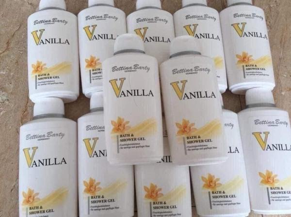 Gel sữa tắm và dầu gội Vanila giá rẻ