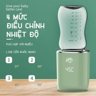 [HCM]Máy hâm sữa cầm tay Jiffi T5-18B Phiên bản 3.0 tích hợp pin sạc bảo hành 6 tháng thumbnail