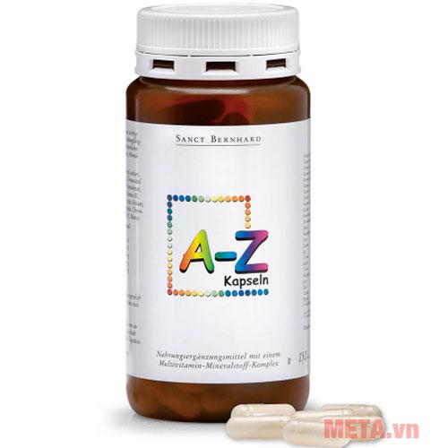 Vitamin Khoáng chất tổng hợp A-Z Kapseln cao cấp