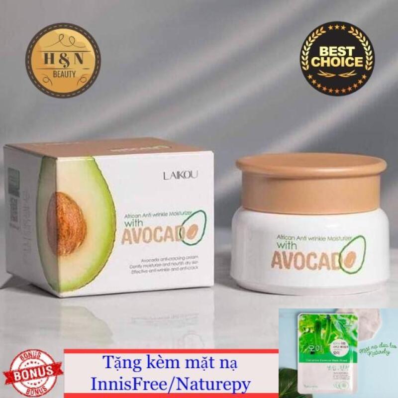 Mặt nạ bơ Avocado Laikou (tặng mặt nạ innisfree/nature) nhập khẩu