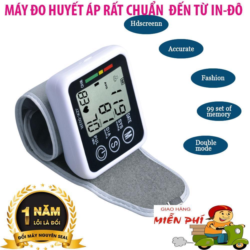 Nơi bán Máy đo huyết áp  của nhật , Máy Đo Huyết Áp Chuẩn BYT ,  Máy đo huyết áp cổ tay, đo cực nhanh, thông minh chính xác, món quà tuyệt vời cho người cao tuổi, bảo hành 12 tháng Mã SP 5