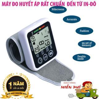 [HCM]Máy đo huyết áp của nhật Máy đo huyết áp cổ tay đo cực nhanh thông minh chính xác món quà tuyệt vời cho người cao tuổi bảo hành 12 tháng Mã SP 5 Tmark thumbnail