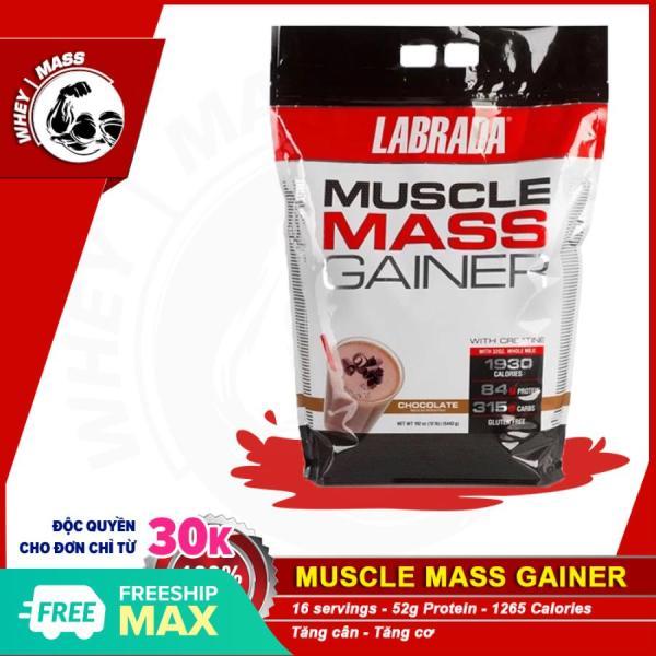 Sữa Tăng Cân Dành Cho Người Gầy LABRADA MUSCLE MASS 12 Lbs (5.4kg)