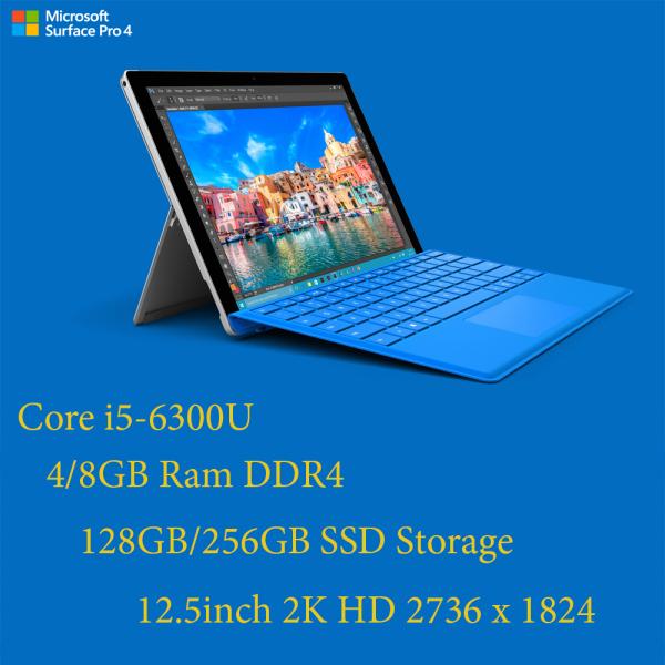 Máy tính bảng Surface Pro 4 Core i7-6650U, 16gb Ram, 512gb SSD/12.3inch 2K cảm ứng, kèm bàn phím