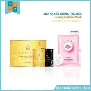 [02 Gói Ủ Yến và Thải Độc] Cấy Trắng Luxury Golden Mask Magic Skin NÂNG TÔNG TRẮNG HỒNG thumbnail