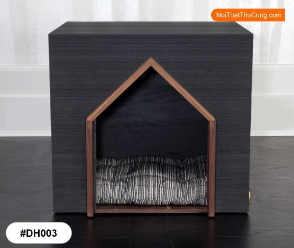 Nhà Gỗ Mang Màu Sắc Hiện Đại Cho Chó DH003