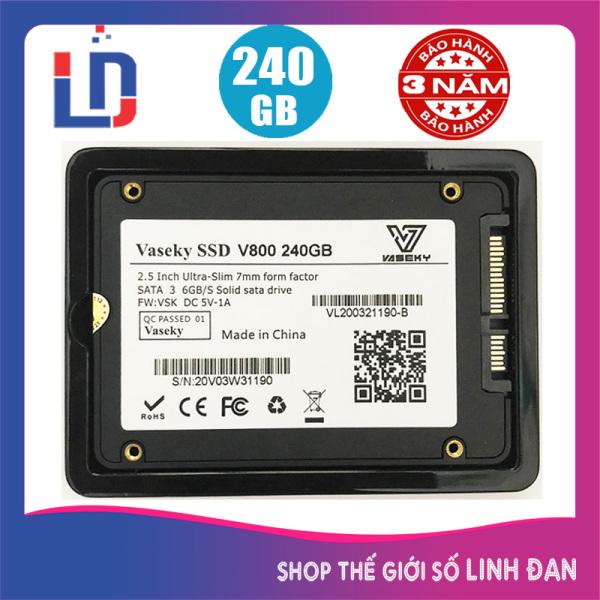 Bảng giá Ổ cứng SSD Vaseky 240GB 120GB V800 2.5 inch - V800 TH Phong Vũ