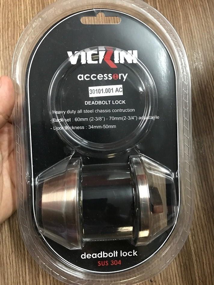 Khóa chốt VICKINI 30101.001 (Nâu)