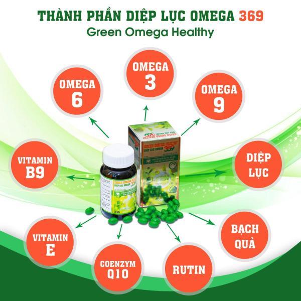 Diệp lục Omega 369- giúp tăng cường thị lực, tăng cường trí nhớ nhập khẩu